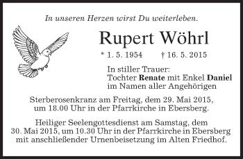 Zur Gedenkseite von Rupert