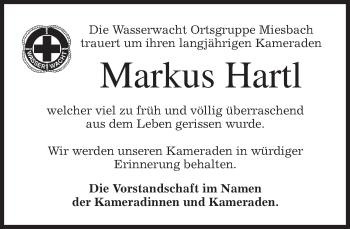 Zur Gedenkseite von Markus