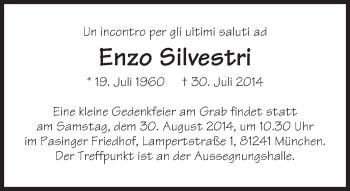 Zur Gedenkseite von Enzo