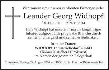 Zur Gedenkseite von Leander Georg