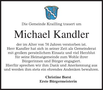 Zur Gedenkseite von Michael