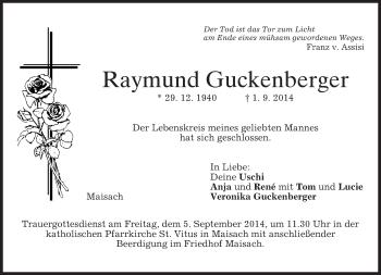 Zur Gedenkseite von Raymund
