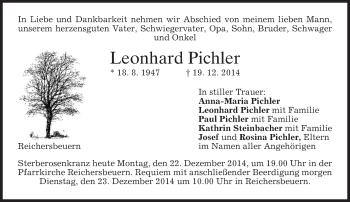 Zur Gedenkseite von Leonhard
