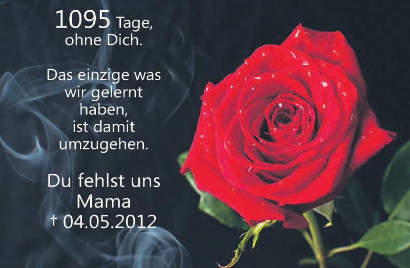 Mama trauer