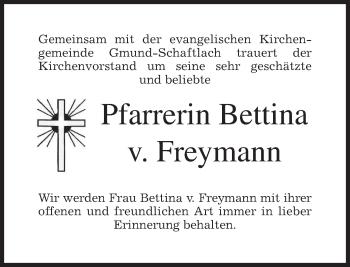 Zur Gedenkseite von Bettina