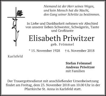 Elisabeth Priwitzer