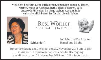 Resi Wörner