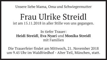 Ulrike Streidl