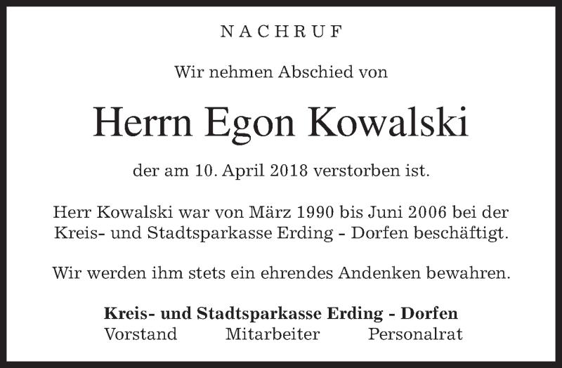 Suche nach Tag: egon kowalski