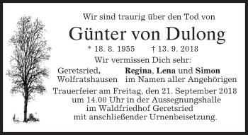 Günter von Dulong