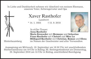 Xaver Rasthofer